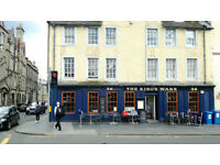 Friendly and energetic bar/ restuarant supervisor wanted!