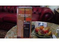 uniden bearcat 200 channel radio scanner.