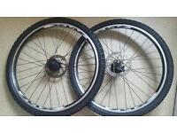 Shimano bike wheel frames