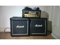 Marshall 3005 12W Lead Amplifier and Speakers