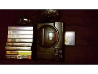 unboxed Sega mega drive with 9 games £100