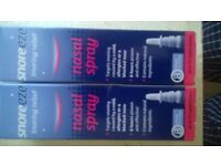 2xbottles of snoreeze nasal spray