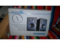 Samson Resolv 50a - active 70 Watts bi-amplified studio monitor speakers
