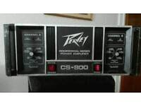 Pevey 800w stereo power amp