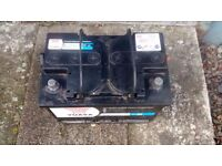 Car battery, fits mk 5 Golf and others.