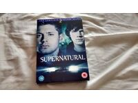 Supernatural - The Complete Second Season DVD I also have The First Season on another ad for both £5