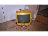 little yellow TV