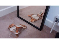 Almudena lace up heel sandal (size 4)