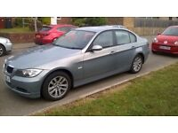 BMW 320d se with sat nav dvd player and I drive