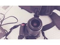 Nikon D3000 digital camera with lens in very good condition near camden