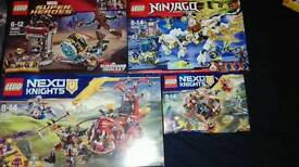 Lego various sets all sealed