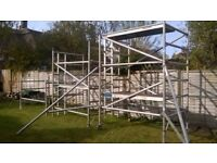 Aluminium Scaffold Tower 6.5m Working Height 1.4 x 1.85