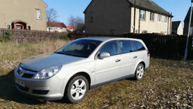 2006 vauxhall vectra estate 1.9cdti automatic