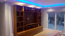 SOLID WOOD SIDEBOARDS,BEDS,TV UNIT,DINING/COFFEE TABLES,DRESSERS,PATIO&GARDEN BENCHES FROM £49 LOOK