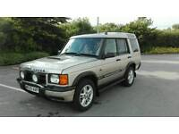 2000 LAND ROVER DISCOVERY SERIES II 4.0 V8I ES AUTO GOLD 7 SEATER TOP SPEC LONG MOT NICE 4X4.