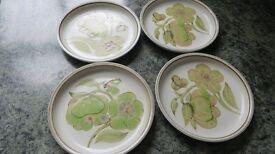 Denby Troubador Side Plates Set of 4