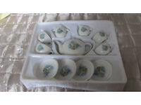 Childs porcelain tea set