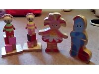 In the night garden toys (no iggle piggle puzzle)