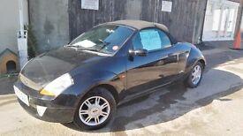 Great little car for summer. Ford Streetka, black,