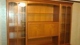 Wall unit ,lovely condition,buyer collects