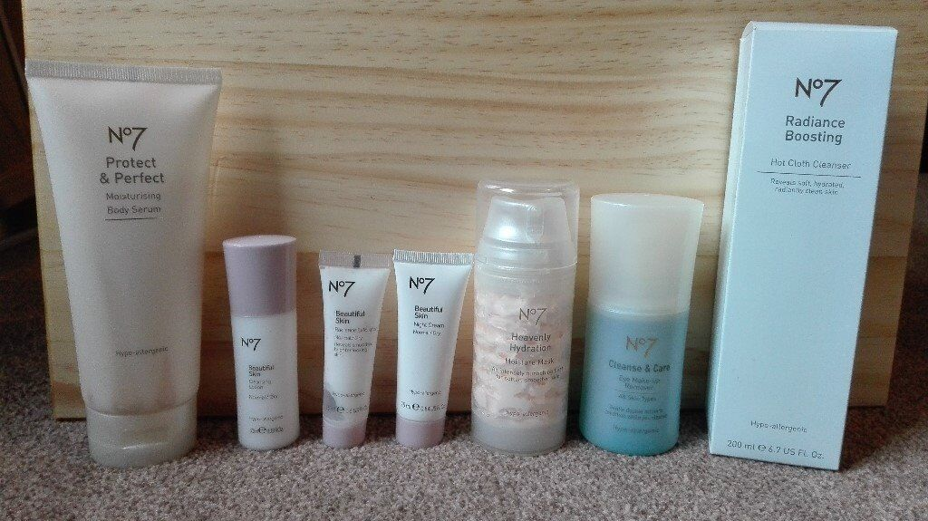 Boots No.7 Skincare Products