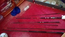 3 Rods, Spare or repair Okuma/Mitchell/Ron Thomson
