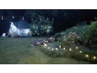 Garden stakes (x12)