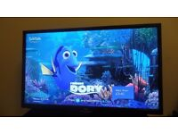 "JVC 32"" FREEVIEW TELEVISION + BUILT-IN DVD PLAYER"