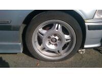 BMW M3 Motorsport wheels