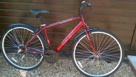 "Apollo CX10 - 21"" frame - metallic red - 700x36 tyres"