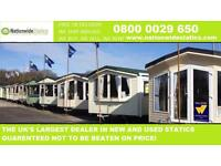 Static caravans at bargain prices