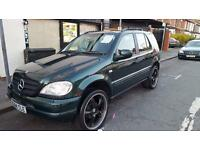 2000 Mercedes Benz Ml320 7 seater