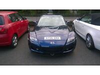 Mazda RX8 Nemesis metallic blue low mileage