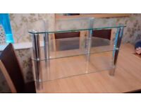 Cornor Glass TV Unit