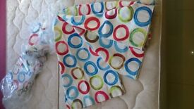 Brand new still in bag 2 pairs of Curtains 165cm drop for window approx 205cm width