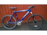 Cross Mountain Bike..Front Disc.Town Tyres..Front suspension.. Ideal commuter..£49.Choice of Bikes