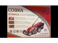 Brand new Cobra GTRM38 Electric Lawnmower