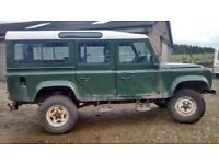 Land Rover Defender 200tdi Project