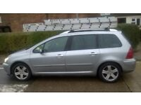 7 Seater Diesel 307SW great runner needs tidying