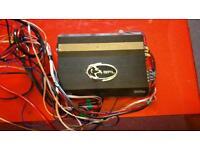 SPL 900w amplifier.