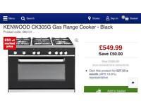 Kenwood 90cm Dual Fuel Gas Cooker