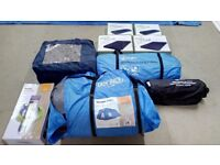 Voyager elite 6 tent , porch , groundsheet and carpet