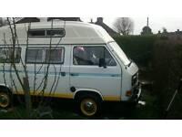 T25 VW camper. Reluctant sale. Converted to 1.9 diesel