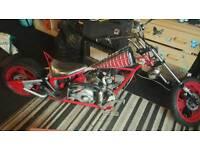 Spiderman motorbike for sale