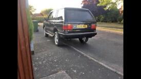 Range Rover p38 very low miles 94k ! Diesel 2.5td auto long mot black with cream leather