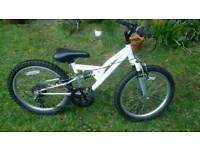 Apollo full suspension bike for first rider