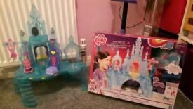 little pony castle toy