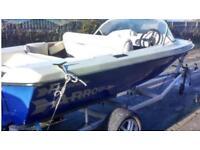 Speed boat inc trailer ( no engine )