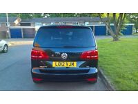 2012 VW TOURAN DIESEL AUTOMATIC 7 SEATER