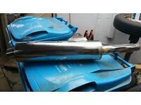 Honda cbr 600 exhaust system